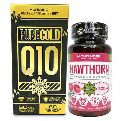 Hawthorn Berry and Coenzyme Q10 Strong Heart Antioxidants Blood Pressure