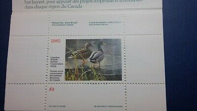 Canada duck stamps x5 1985-9 XFmnh in booklets check photos & details
