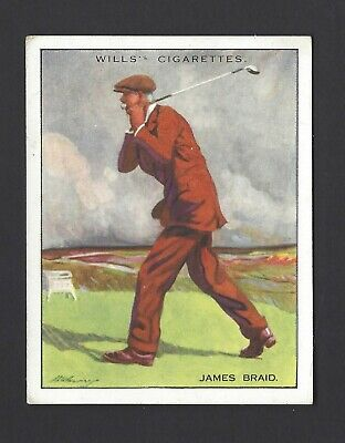 Wills - Famous Golfers - #1 James Braid