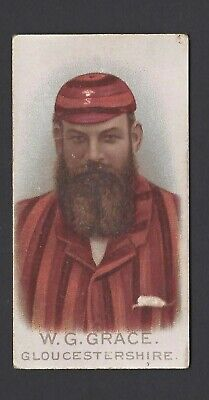Wills - Cricketers, 1896 - W G Grace, Gloucestershire
