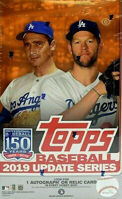 2019 Topps Update Series Baseball Factory Sealed Hobby Box w Silver Pack
