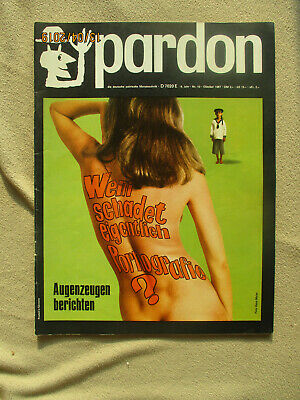 pardon 10 1967 Satire Pornografie James Bond Henri Nannen Rosa von Praunheim