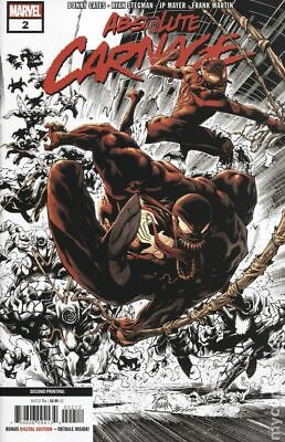 Absolute Carnage #2H Stegman Variant 2nd Printing NM 2019 Stock Image