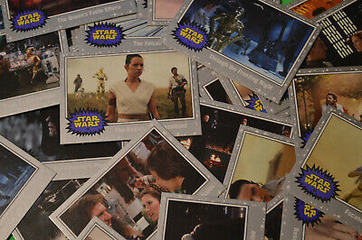 Topps Journey To STAR WARS THE RISE OF SKYWALKER | select > SILVER Base cards