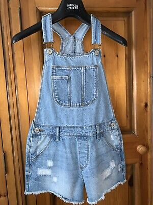Attractive Girls Age 11 Years BLUEZOO Denim Dungarees & FREE P&P