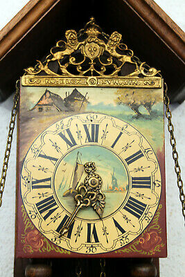 Old Wall Clock Dutch Chimes Clock Type Stultyenclock