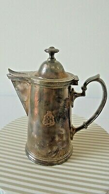 1912 WELLNER SOEHNE SILVER PLATED  COFFEE/TEA POT German for the H.A.P.A.G