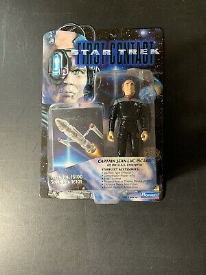 """Star Trek 1996 Playmates First Contact 6"""" Captain Jean-Luc Picard Sealed"""