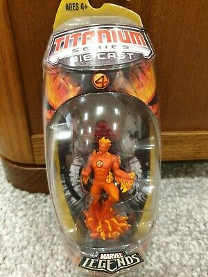Marvel Titanium Series Diecast Human Torch