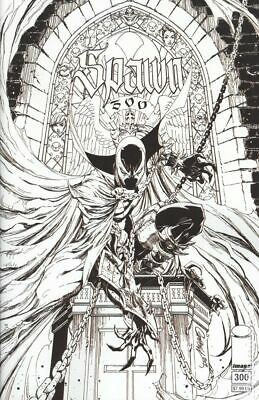 Spawn #300N Campbell B&W Variant NM 2019 Stock Image