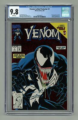 Venom Lethal Protector 1A Red Foil Variant CGC 9.8 1993 1445026012
