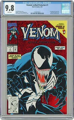 Venom Lethal Protector 1A Red Foil Variant CGC 9.8 1993 1554573012