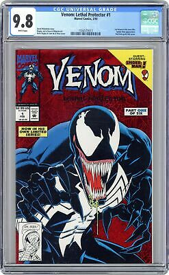 Venom Lethal Protector 1A Red Foil Variant CGC 9.8 1993 1554573013