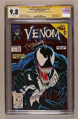 Venom Lethal Protector 1A Red Foil Variant CGC 9.8 SS 1993 1610150005