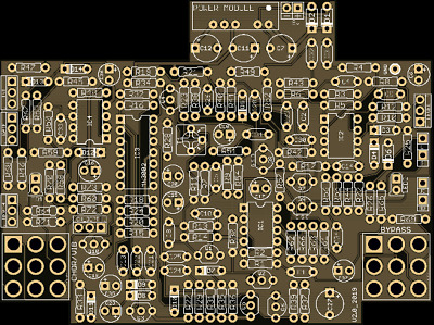Pcb: Chorus Ce1- Mn3002 512 Stage Bbd-Version 2_Reduced!!!