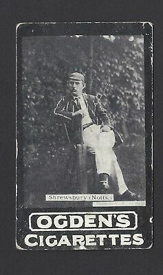 Ogdens (Tabs) - Our Leading Cricketers - A Shrewsbury, Nottinghamshire