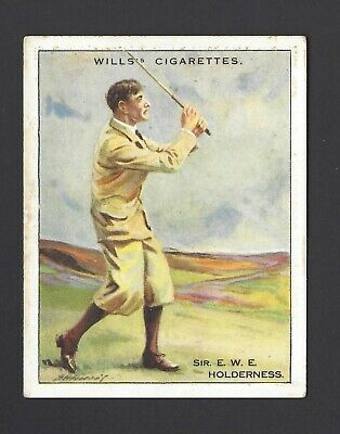 Wills - Famous Golfers - #12 Sir E W E Holderness