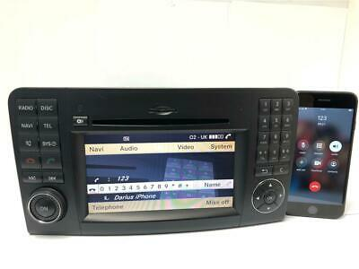 Mercedes Comand NTG2.5 ML W164 X164 SAT NAV CD DVD HDD Stereo Player Bluetooth