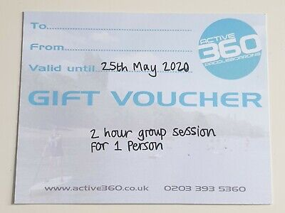 Gift Voucher Paddleboarding 2 hour Group Session. WORTH £59