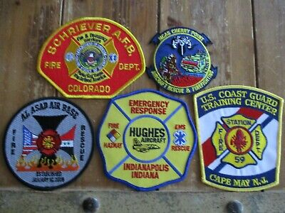 5 ARFF/Military Fire Patches #23