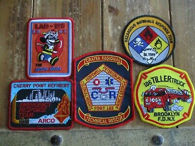 5 Company Fire Patches #25