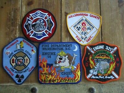 5 Company Fire Patches #23