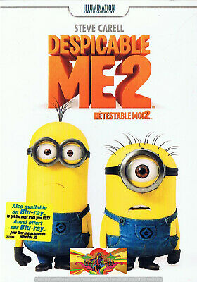 Family - Despicable Me 2 (DVD, 2013) (Bilingual) Comedy Animation SLIPCOVER NEW