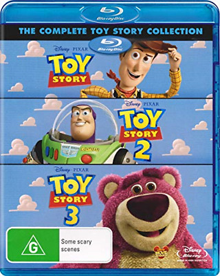 Toy Story I II III & IV DVD Combo 1234 1 2 3 4 Complete Collection Ships 10/11