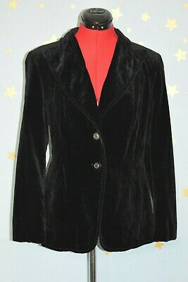 70s vintage   Goldix  black velvet jacket christmas