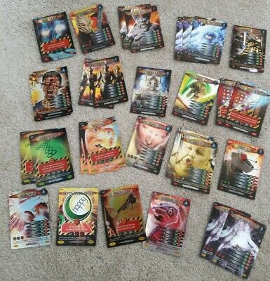 Job Lot 30 Shiny Foil Doctor Who Battles in Time Trading Game Cards RARE no 67