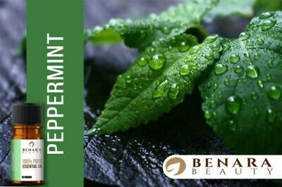 10ml Peppermint Essential Oil 100% Pure and Natural Aromatherapy Benara Beauty