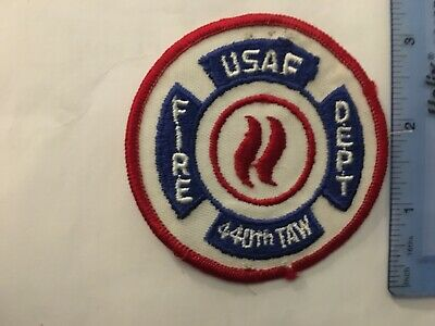 US Air Force 440th TAW Fire Department Wisconsin (Vintage)