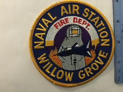 US Naval Air Station Willow Grove Fire Department Pennsylvania (Vintage)