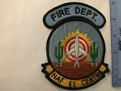 US Naval Air Facility Fire Department California (Vintage)
