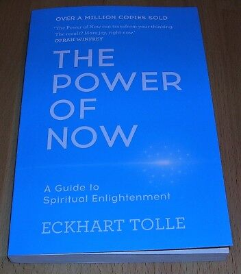 The Power of Now: A Guide to Spiritual Enlightenment NEW BOOK Quick Postage