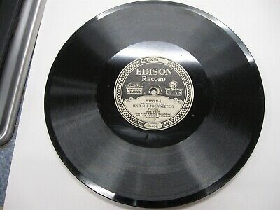Edison Diamond Disc Phonograph Record #51575