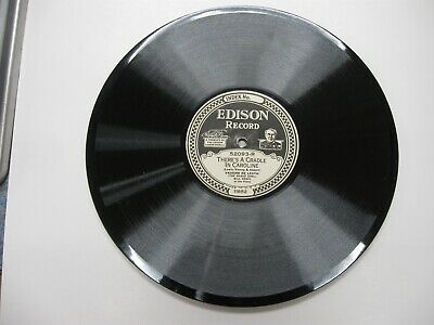 Edison Diamond Disc Phonograph Record #52093