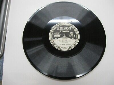 Edison Diamond Disc Phonograph Record #52228- Two Dark Knights