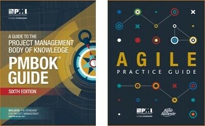 PMBOK Guide 6th Edition  + Agile Practice Guide PDF High Quality 2018
