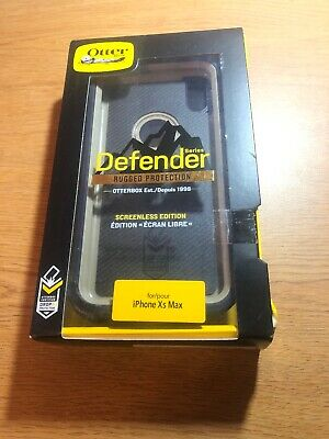 OTTERBOX Defender Series Case for iPhone XS Max (Navy/Blue, Screenless Edition)