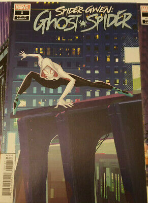 Spider-Gwen: Ghost Spider #1 1:10 Animation Variant Marvel 1st Print NM 2018
