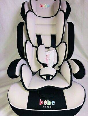 Baby Car Seat 3 in1 9 moths to 12 years 9 to 36 kg Restraint Safety Booster Grey