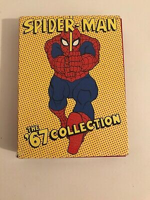 Spider-Man: The 67 Classic Collection (DVD, 2004) Spiderman Box set Marvel