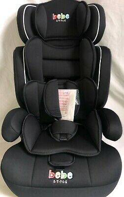 Baby Car Seat 3in1 9 moths to 12 years 9 to 36 kg Restraint Safety Booster Black