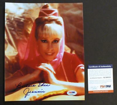 BARBARA EDEN SIGNED - PSA/DNA Autographed 8x10 photo, I Dream of Jeannie, Nice 1