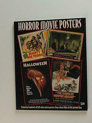TWO DIFFERENT 1990s HORROR~SCI-FI & FANTASY MOVIE POSTER PICTORIAL ENCYCLOPEDIAS
