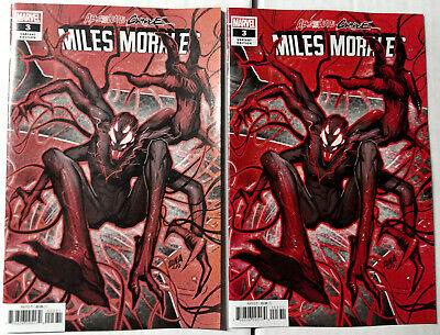Absolute Carnage Miles Morales #3 Connecting Variant Printing Error Set   100919