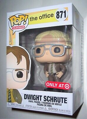 Funko POP Vinyl The Office DWIGHT SCHRUTE BLONDE Target Exclusive Figure Only