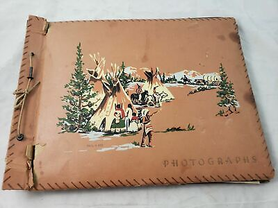 1950s travel album ~ New Mexico NM photos postcards brochure ~ estate sale find