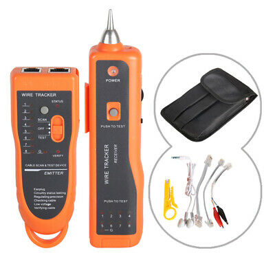 Cable Tester Check Wire Network Detector Instrument Line Finder Multifunction